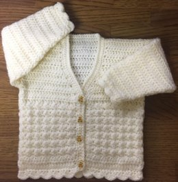 Baby/Child's V Neck Cardigan - 1005