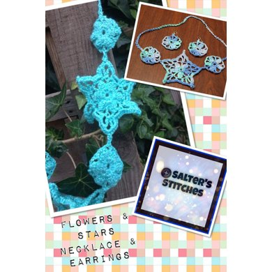 Flowers & Stars Necklace & Earring