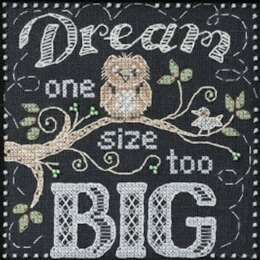 Mill Hill Dream Big - Sentiments Cross Stitch Kit - Multi