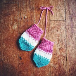 Rocket Pop Baby Mitts