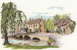 Derwentwater Designs Bourton-on-the-Water Cross Stitch Kit
