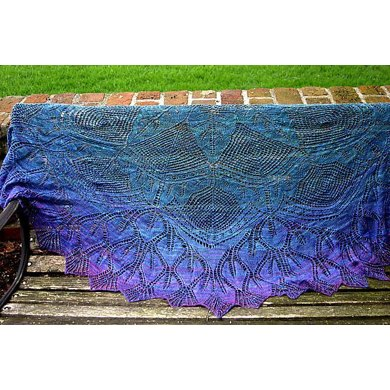 In Dreams Mystery Shawl