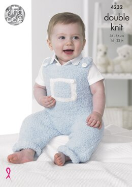 Baby Set in King Cole DK - 4232 - Downloadable PDF