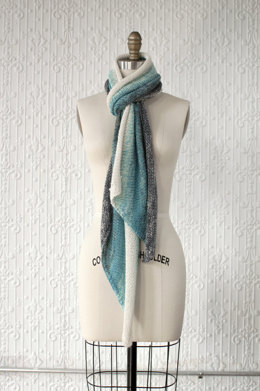 Gradiente Scarf in Manos del Uruguay Lace Semi-Solid - 2013K
