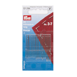 Prym Sewing Needles Sharps  No. 3-7 Assorted