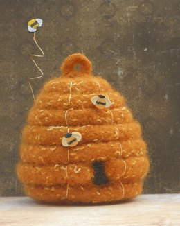 Felted Woolly Beehive Skep