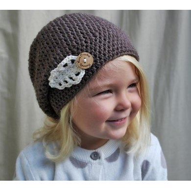 The Hazel Beret Crochet Pattern By Nicole Knutsen
