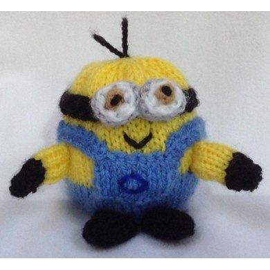 Minion Choc Orange Cover / Toy Knitting pattern by Andrew ...
