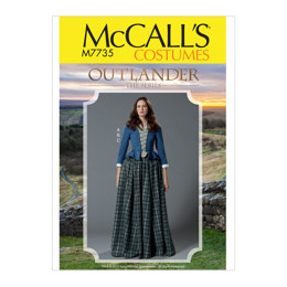 McCall's Misses' Costume M7735 - Sewing Pattern