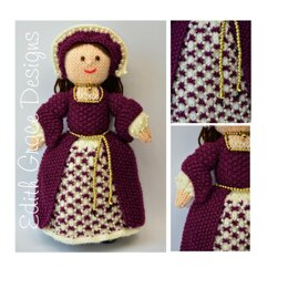 Catherine - A Tudor Doll Knitting Pattern