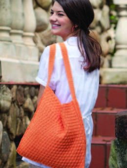 Zinnia Tote in Nazli Gelin Garden 5 - 1483 - Downloadable PDF