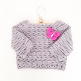 Toddlers Long Sleeved Sweater