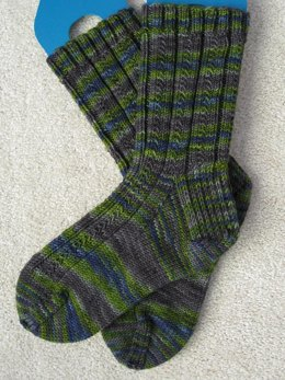 Simple skyp socks
