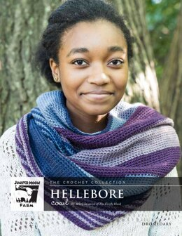 Hellebore Cowl in Juniper Moon Farm Dromedary - J55-02 - Downloadable PDF