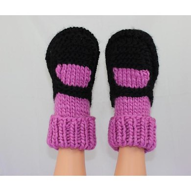 Adult Superfast Rib Cuff Sock Slippers