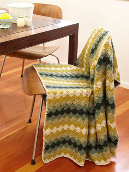 Greenway Throw in Berroco Comfort