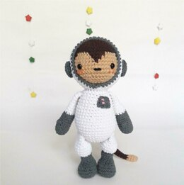 Cleo the astronaut monkey