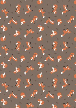 Lewis & Irene Small Things…Country Creatures Fox Brown Cut to Length
