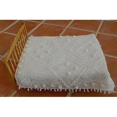 HMC10 Bobbled bedspread for the dolls house