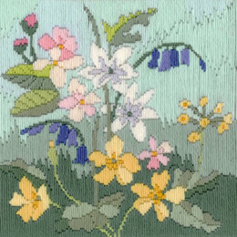 Derwentwater Designs Long Stitch Seasons - Spring Kit