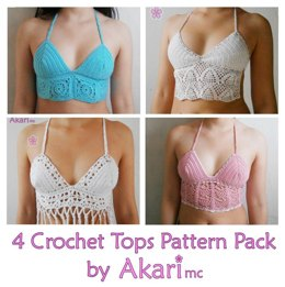 Four Crop Tops Pack_ PCT3