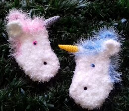Unicorn Christmas Stockings & Gift Bags