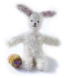 Cuddly Bunny in Lion Brand Wool-Ease and Tiffany - 60046