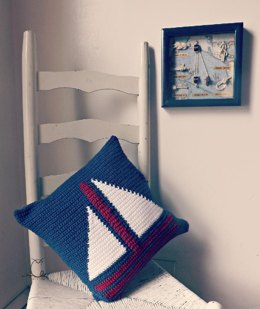 Let's Sail Away Pillow