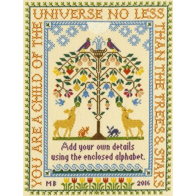 Bothy Threads Tree of Life Cross Stitch Kit