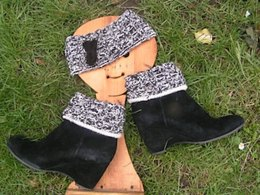 Chic Boot cuffs and Funky Headband