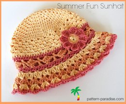 Summer Fun Sunhat PDF14-142