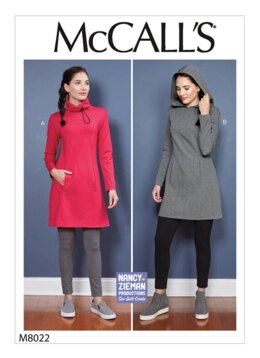 McCall's Misses' Dresses M8022 - Sewing Pattern