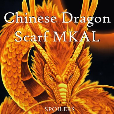 Chinese Dragon Scarf MKAL