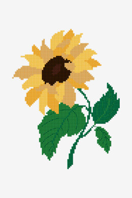 Sunflower in DMC - PAT0883 - Downloadable PDF
