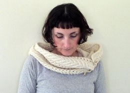 Brittany's Buttoned Cowl