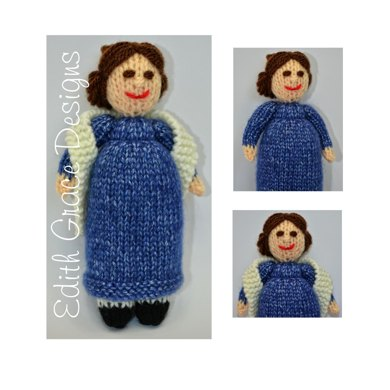Jane Austen Elizabeth Bennet Doll - Toy Knitting Pattern Knitting ...