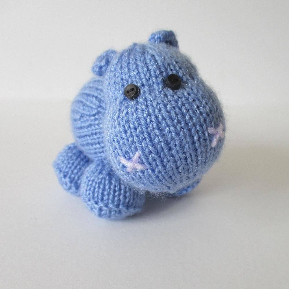 How to crochet an Hippo | World Of Amigurumi - YouTube | 1000x1000