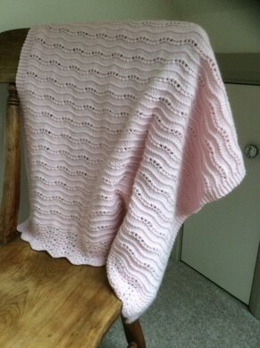 Old Shale Ridge Baby Blanket