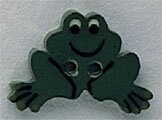 Mill Hill Button 86304 - Frog