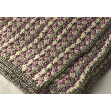 Easy Crochet Lap Blanket Crochet Pattern By Judith Stalus