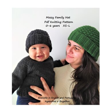 Mossy Family Hat | 0-6y years XS-L