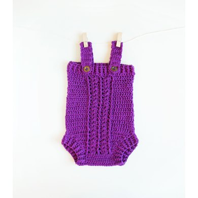 Little Dreamer Crochet Baby Romper