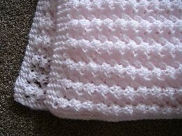 Delicate Lacey Baby Afghan