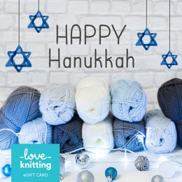 LoveKnitting eGift Card - Hannukah