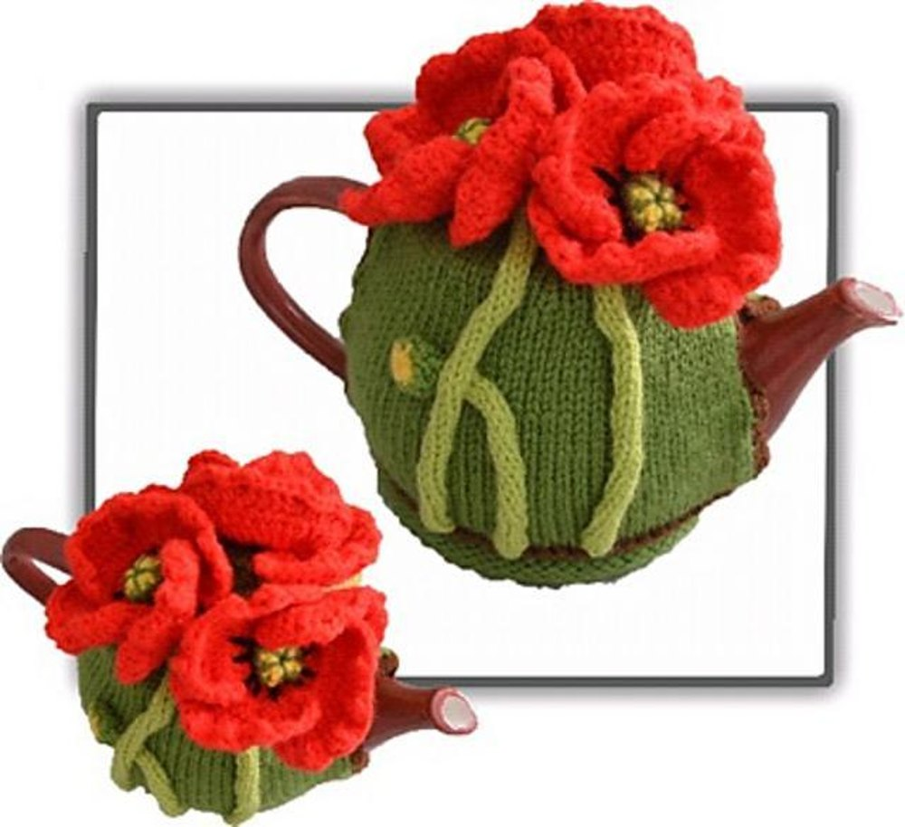 Poppy tea cosy knitting crochet pattern by t bee cosy knitting poppy tea cosy knitting crochet pattern by t bee cosy knitting patterns loveknitting bankloansurffo Image collections