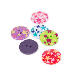 Rico Buttons With Star Design