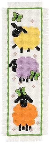 Permin Sheep Cross Stitch Kit - Multi