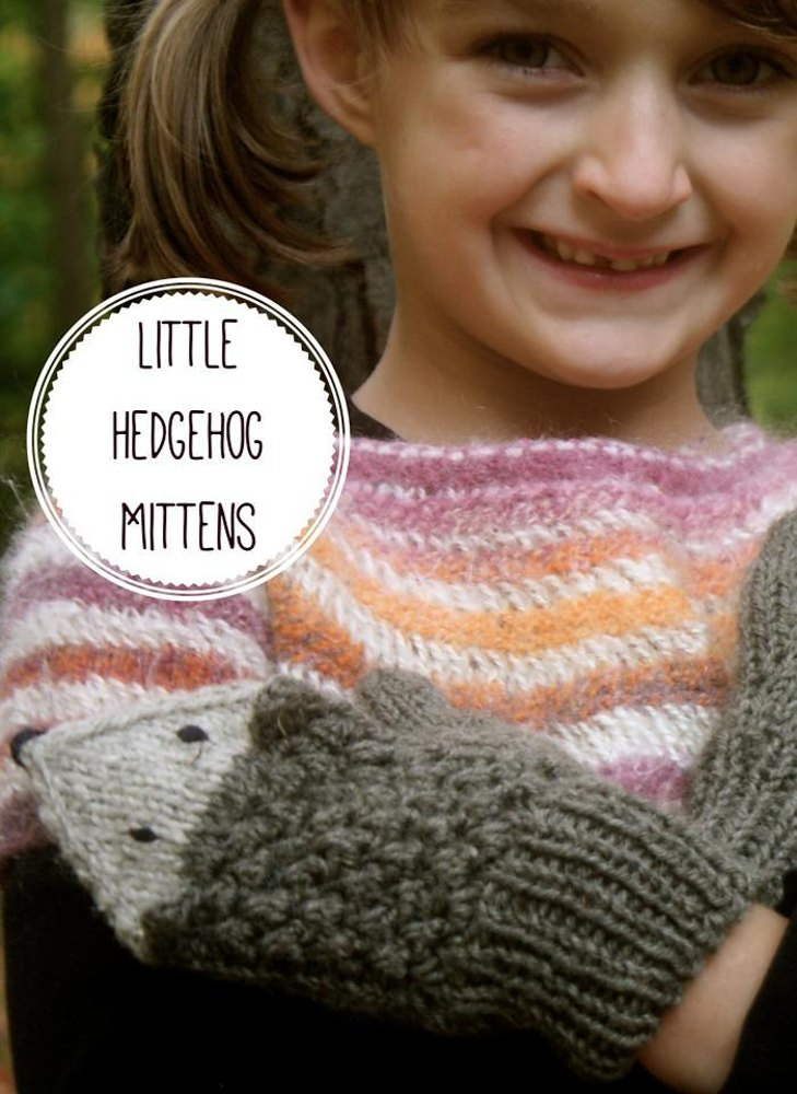 Little Hedgehog Mittens Knitting Pattern By Gillian Grimm Knitting