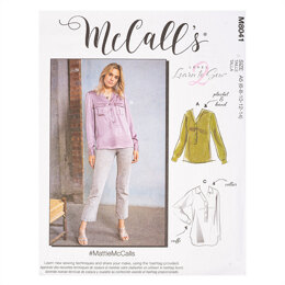 McCall's #MattieMcCalls - Misses' Shirts M8041 - Sewing Pattern