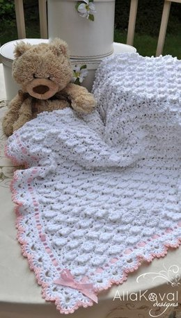 Fluffy Clouds Baby Blanket Crochet
